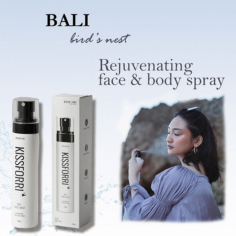 Kissforri Bali Bird Nest Rejuvenating Face And Body Spray